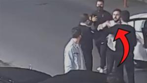 Ünlü yorumcu Uğur Karakullukçu'ya saldırı girişimi! Güvenlik kameralarına saniye saniye yansıdı