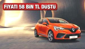 2021 Renault Clio modelinin fiyatı 58 bin TL düştü! 2021 Model sıfır Clio yeni güncel fiyat listesi…