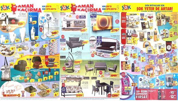 30 Haziran ŞOK Aktüel Ürünler Kataloğu! 2'li koltuk, tv ünitesi, kanepe, salıncak, züccaciye..