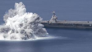 ABD Donanması, savaş gemisi patlayıcı testinde 3.9 büyüklüğünde deprem yarattı