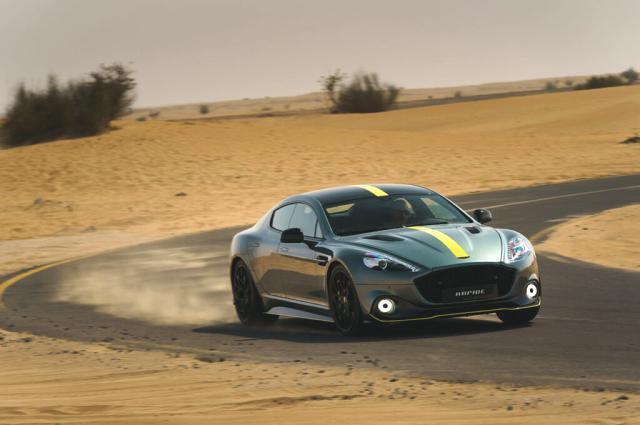 Aston Martin Rapide AMR Türkiye'de!