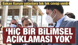 Bakan Kurum'dan Kanal İstanbul açıklaması