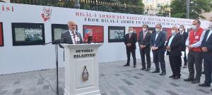 Beyoğlu'nda 'Türk Kızılay'ı 153 Yaşında' sergisi açıldı