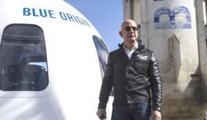 Bezos'un uzay yolculuğundan dönmemesi için imza kampanyası başlatıldı