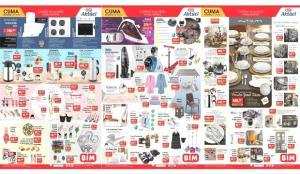BİM 2 Temmuz Aktüel Kataloğu! Yemek takımı, elektronik, ankastre set ve tekstil ürünlerinde..