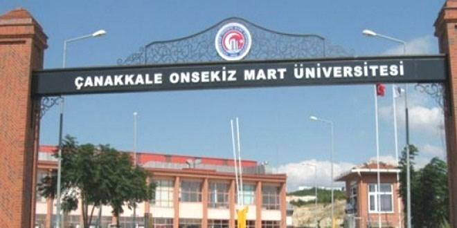 Çanakkale Onsekiz Mart Üniversitesi 40 işçi alacak