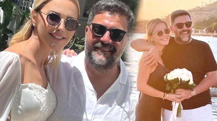Ece Erken ve Şafak Mahmutyazıcıoğlu evlendi!