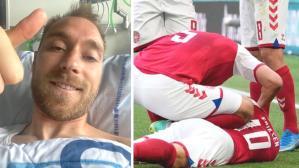EURO 2020 maçında kalp krizi geçiren Eriksen'den 3 gün sonra ilk mesaj: İyi hissediyorum