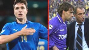 Fatih Terim'in yetiştirdiği Chiesa ailesi, Avrupa Şampiyonası tarihinde gol atan ilk baba-oğul futbolcular oldu