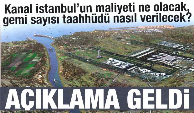 Kanal İstanbul'un maliyeti ne olacak?