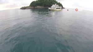 Karadeniz'in yaşanılabilir tek adası yeniden ziyaretçilerini ağırlamaya başladı