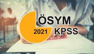 KPSS başvuru tarihleri 2021! ÖSYM KPSS başvuru ücreti ne kadar? Başvuru için son gün…
