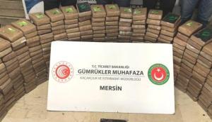 Mersin Limanı'ndaki uyuşturucu trafiğine darbe!