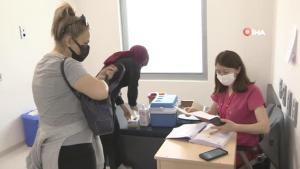 Öğretim üyelerinin ve üniversite personellerinin aşılanmasına başlandı