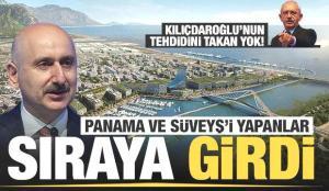 Panama ve Süveyş kanallarını inşa edenler Kanal İstanbul ihalesi için sıraya girdi