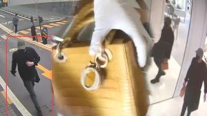 Rusya'dan hırsızlık için geldiler, 250 bin liralık çantayı çalarken yakalandılar