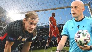 Son dakika – EURO 2020'de Cüneyt Çakır'ın yönettiği maçta skandal hatalar!