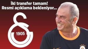 Son dakika haberi: Galatasaray iki transferi bitirdi! Resmi açıklama bekleniyor…