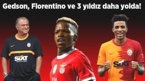 Son dakika haberi: Galatasaray'da dev transfer operasyonu başladı! Gedson Fernandes, Florentino Luis ve 3 yıldız isim için görüşmeler başladı