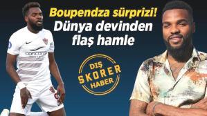 Son dakika transfer haberi: Fenerbahçe ve Galatasaray'ın transfer etmek istediği Aaron Boupendza için dünya devi devrede!