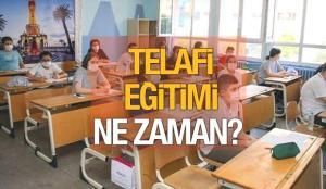 Telafi eğitimi ne zaman başlayacak? MEB takvimi netleştirdi! Okullar yazın açık olacak!