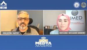 UMED Medya Akademisi, ADÜTV Üzerinden Eğitimlere Başladı