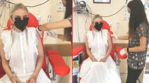 Ünlü şarkıcı Gülşen, koronavirüs aşısı yaptırdı