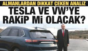 Alman medyasının gündemi TOGG: Tesla ve VW'ye rakip mi olacak?