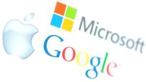 Apple, Microsoft ve Google, ikinci çeyrekte gelirlerini artırdı