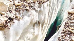 Cilo'nun buzulları da eriyor