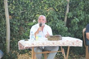 Ercan Kesal, memleketiNevşehir'de söyleşiye katıldı