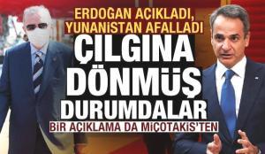 Erdoğan'ın açıklamaları Yunanistan'ı öfkelendirdi! Bir açıklama da Miçotakis'ten