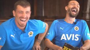 Fenerbahçe YouTube'a konuk olan Caner Erkin ve Mert Hakan, gülmekten kırdı geçirdi
