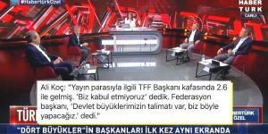 İşte Görmek İstediğimiz Hareketler! 4 Büyük Kulübün Başkanları Canlı Yayında Türk Futbolu'nu Masaya Yatırdılar