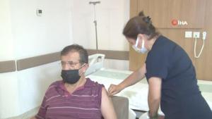 Konya'da üçüncü doz aşı uygulamasına başlandı