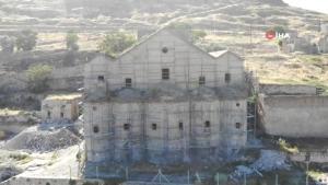Nevşehir'de 172 yıllık tarihi kilise turizme yeniden kazandırılıyor