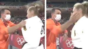 Olimpiyatlar'da dayakçı antrenör skandalı! Sporcusunu kavgadaymış gibi tokatladı