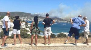 Son dakika… Bodrum'daki yangında flaş gelişme! 3 otel tahliye edildi