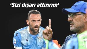 Son dakika haberi – Maurizio Sarri'den Vedat Muriqi tehditi: Sizi dışarı attırırım