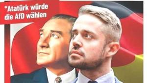 Almanya'da Irkçılar Atatürk'ü Seçime Alet Etti