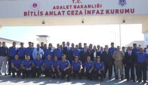 Bakan Gül'den Bitlis'teki Ahlat T Tipi Ceza İnfaz Kurumu'nu ziyaret