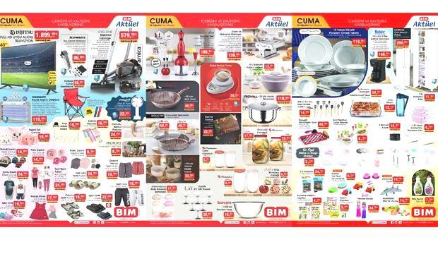 BİM 6 Ağustos 2021 Aktüel Ürünler Kataloğu!  LED TV, Kamp Sandalyesi, Kahve Makinesi, Blender, Mutfak ürünlerinde