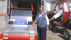Erdoğan'ın sözünden etkilendi! Servetini 'yerli araba' için harcadı