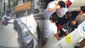 Feci kaza kamerada! Çarptığı çocuğu metrelerce savurdu