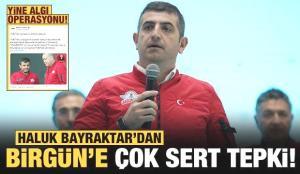 Haluk Bayraktar'dan BirGün'e çok sert tepki: Her yıl aynı yalan
