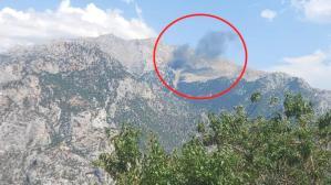 Kahramanmaraş'ta düşen uçağı gören köylüler telefona sarıldı: Uçak düştü hanımefendi uçak