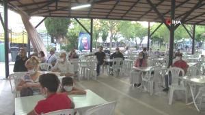 Kartal Cemevi'nde Muharrem Ayı'nın ilk orucu açıldı