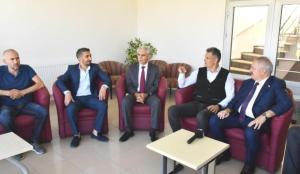 Kayseri OSB Başkanı Nursaçan'dan ASKF yönetimine ziyaret