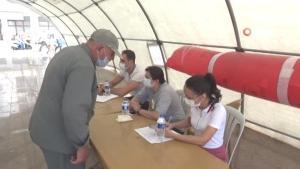 Kilis'te yapılan aşı sayısı 111 bine ulaştı
