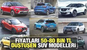 ÖTV sonrası fiyatı düşen SUV modelleri: Nissan Renault Ford Peugeot Opel Hyundai yeni fiyatları